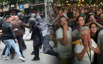 Avui fa 4 anys que el poble de Catalunya es va guanyar recuperar la independència després de 3 segles d'ocupació Les falses declaracions d'independència dels dies 10 i 27 van menystenir la violència patida pels independentistes i deixar en paper mullat el referèndum