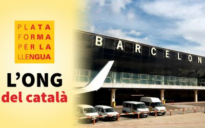 Aeroport Barcelona - Llengua catalana