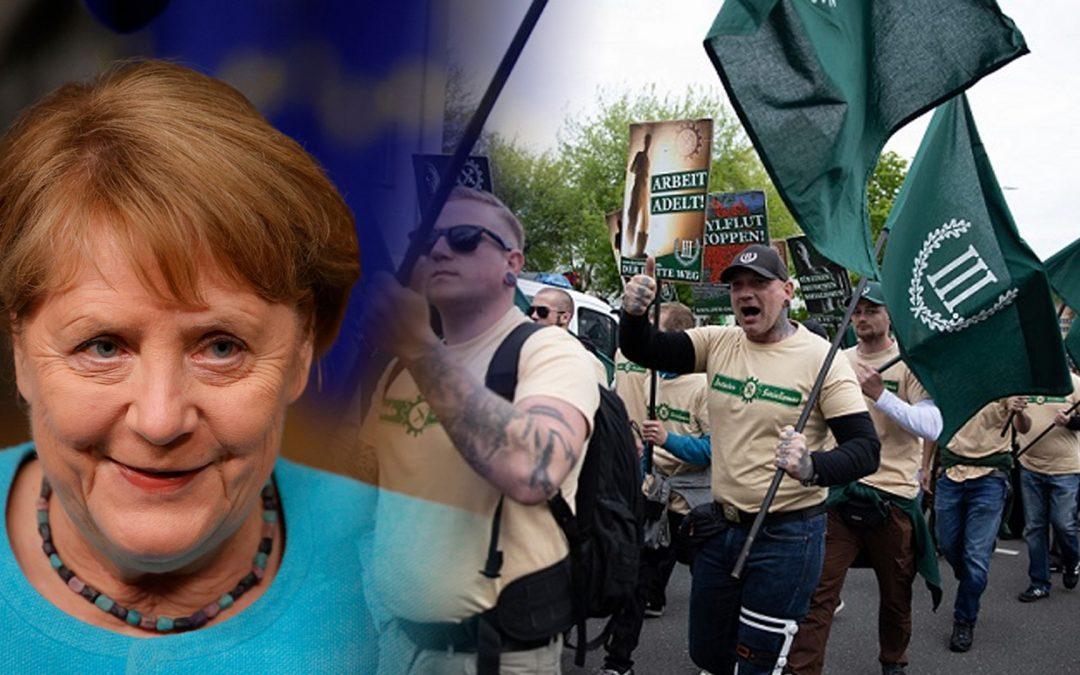 L'ombra del nazisme es manté a Alemanya El partit ultra Der Dritte Weg es presentarà a les eleccions federals del país, on la justícia i el teixit comercial són ferms contra l'antisemitisme i la xenofòbia