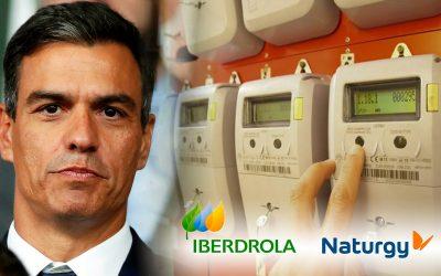 Pedro Sanchez, factura llum, Iberdrola, Naturgy