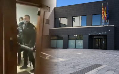 Part dels 13 processats per l'operació Judes van declarar ahir i la resta ho farà demà per videoconferència Ahir van assabentar-se d'un procediment anterior, la nul·litat del qual demanen les seves defenses