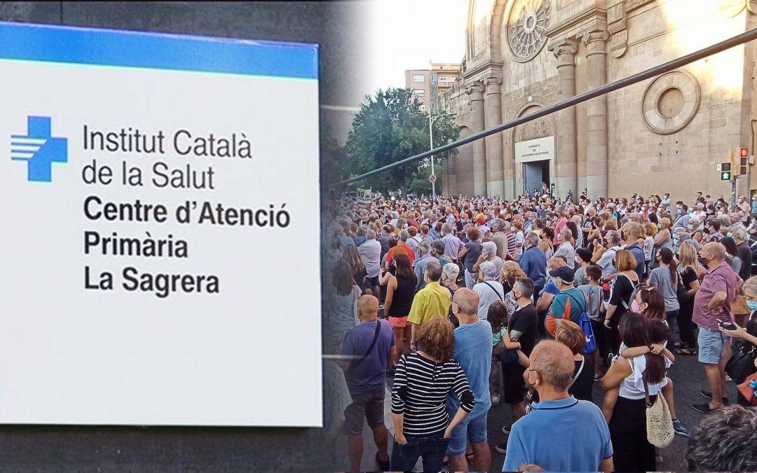 El districte de Sant Andreu exigeix solucions a l'Ajuntament de Colau El recull de residus porta a porta a Sant Andreu i l'ampliació del CAP de la Sagrera, dos conflictes veïnals actius