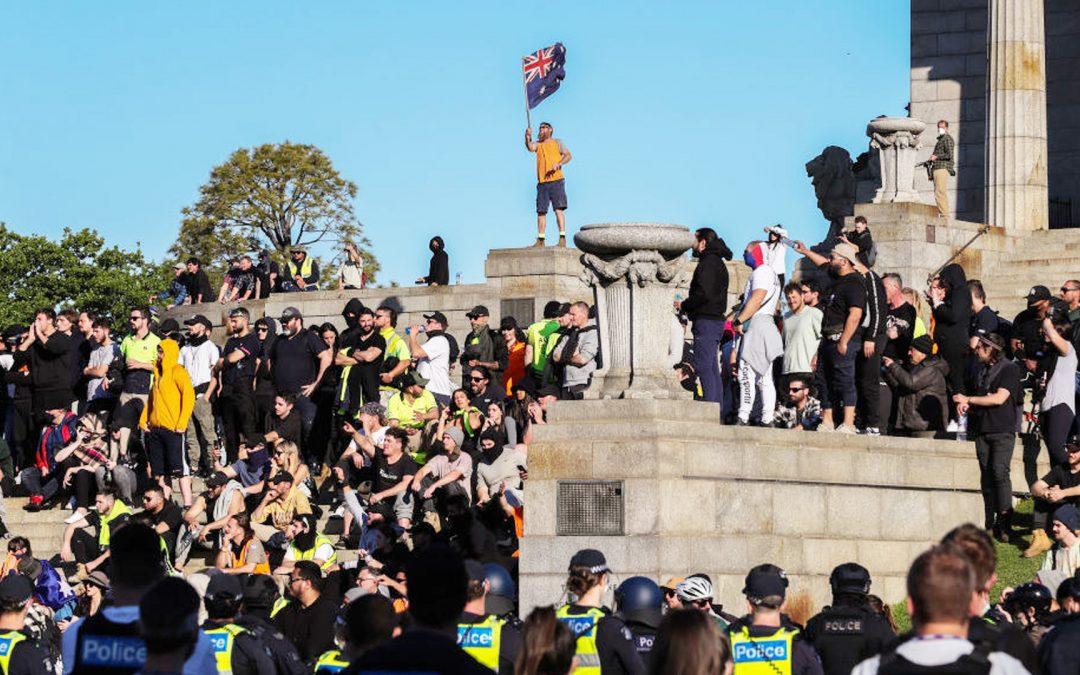 Shrine of Remembrance en Melbourne