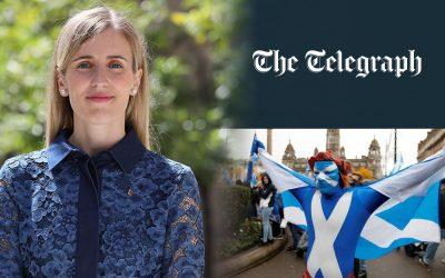 Victoria Alsina-The Telegraph-Escocia