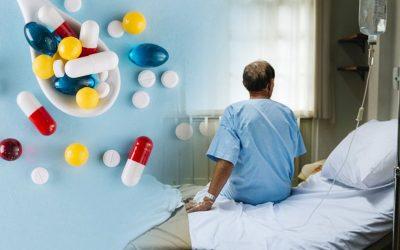 pacient hospitalitzat-medicaments
