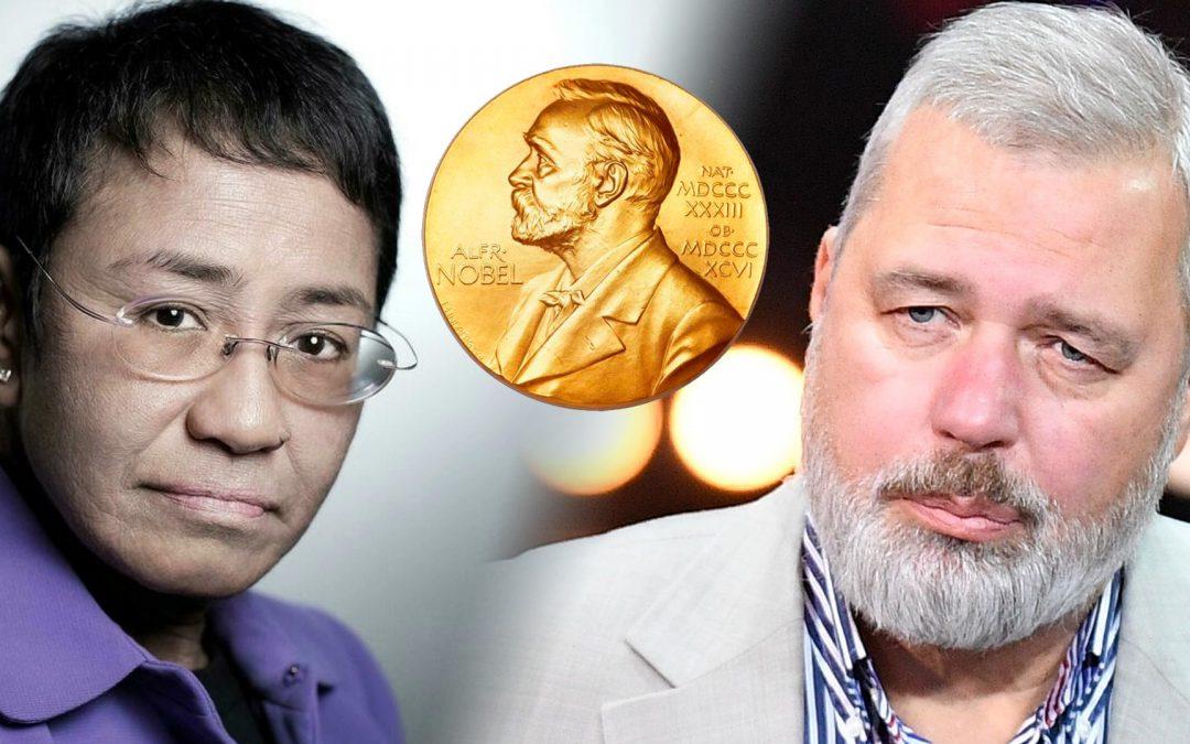 Dos jornalistes reben el Nobel de la Pau Maria Ressa i Dmitry Muratov són reconeguts pel seu treball en defensa de la llibertat de premsa i contra els abusos de poder a Filipines i Rússia
