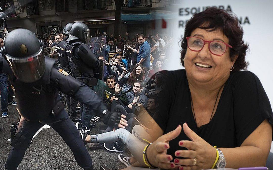 """Dolors Bassa torna a humiliar l'independentisme en una entrevista a """"The Huffington Post"""" Nega legitimitat al 1r-O i afirma que ara no donaria suport a un referèndum en què no s'esperava violència espanyola"""