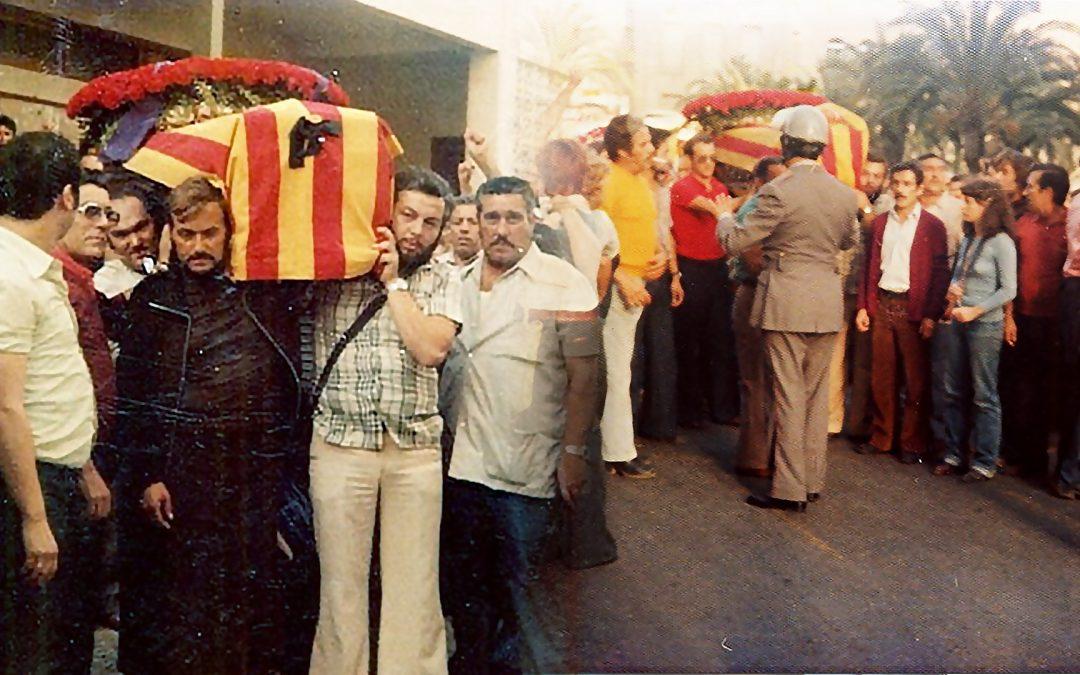 Avui fa 44 anys de l'homicidi de Miquel Grau per les ferides rebudes 10 dies abans La seva figura és font de controvèrsia pels atacs al seu monument i per la revocació de la decisió de posar el seu nom a un carrer