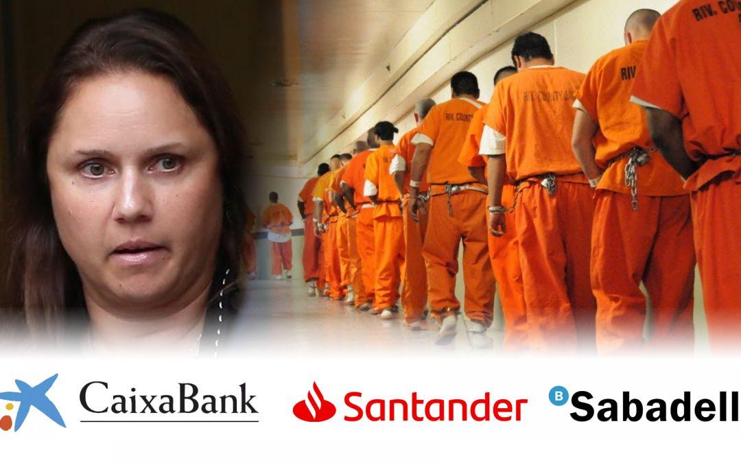 Natalie Mayflower-Caixabank-Santander-Banc Sabadell