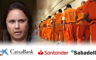 La funcionària que va denunciar una màfia bancària mundial, a presó El Santander, Caixabank i Banc Sabadell apareixen al llistat d'entitats que emblanquien diners massivament