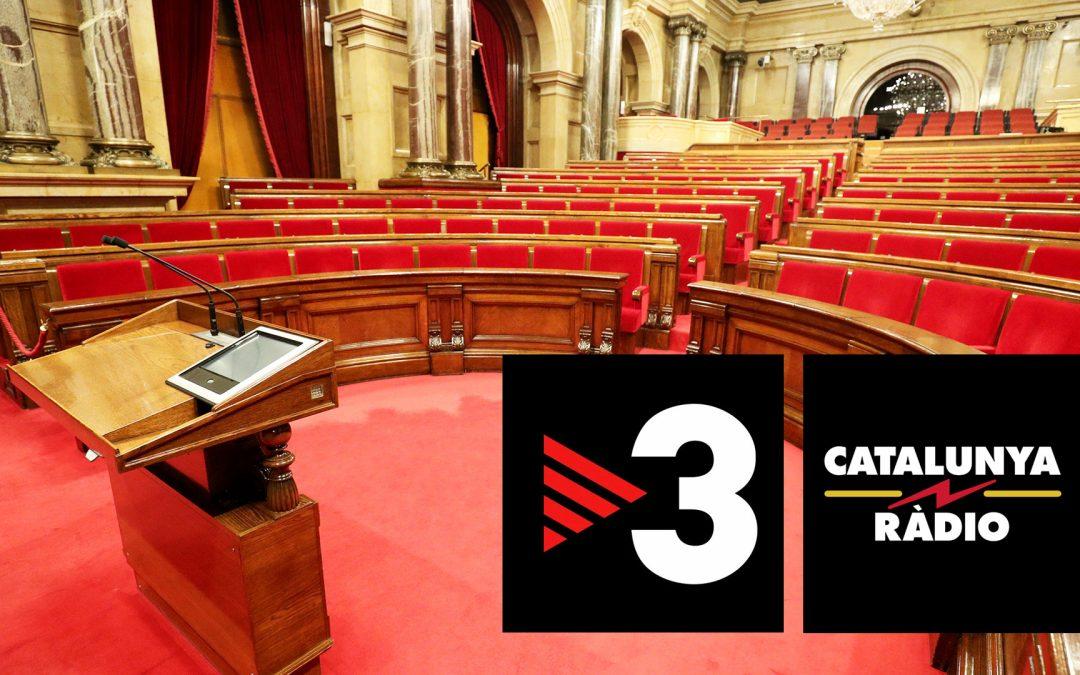 """Proposta per a la renovació urgent de la Corporació Catalana de Mitjans Audiovisuals Els impulsors de la reforma insten els polítics a buscar consens per garantir uns mitjans públics """"democràtics, plurals i en català"""" que en recuperin la credibilitat"""