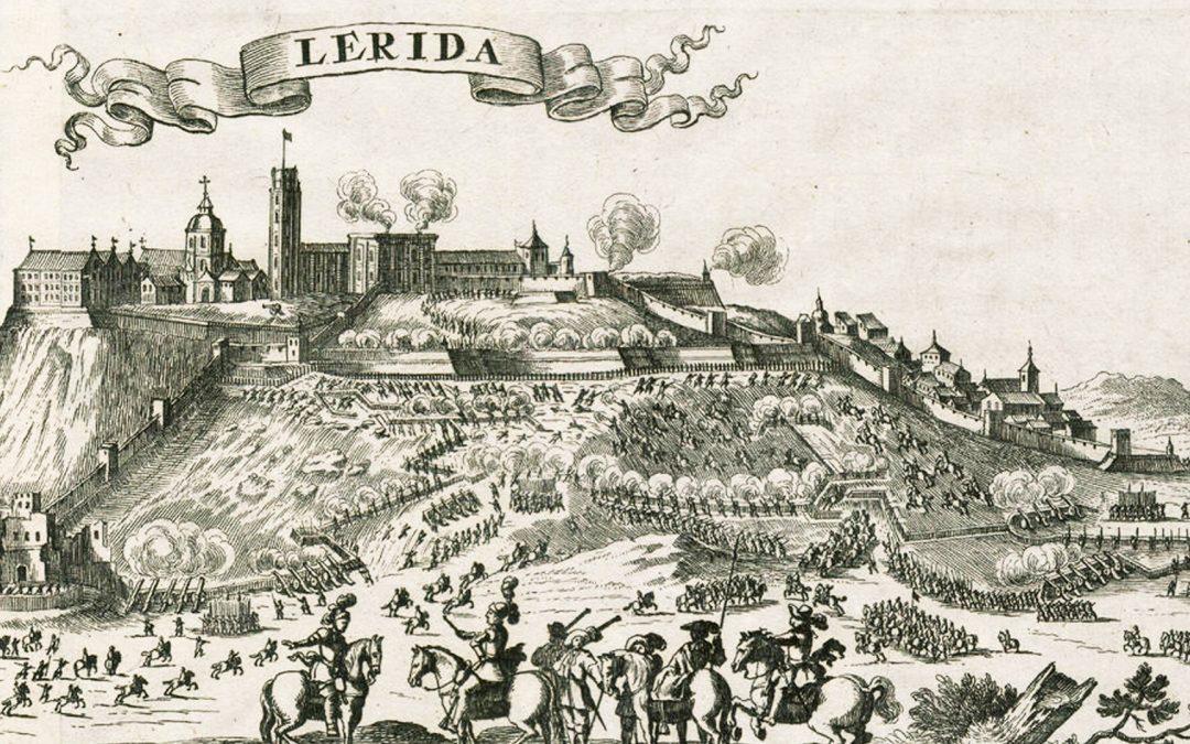 Avui fa 314 anys que Lleida fou passada a sang i foc per les tropes borbòniques L'incendi i els afusellaments del Convent del Roser van provocar centenars de morts civils